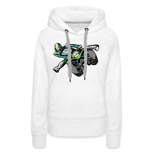 ATV Freestyle Quad Green - Women's Premium Hoodie