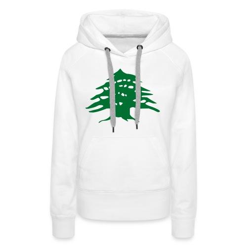 Lebanese Pride Shirt - Women's Premium Hoodie