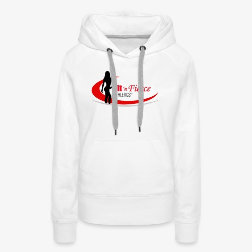 Fit 'n Fierce Athletics full logo - Women's Premium Hoodie