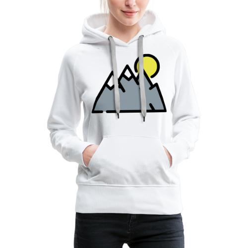 The High Mountains - Women's Premium Hoodie