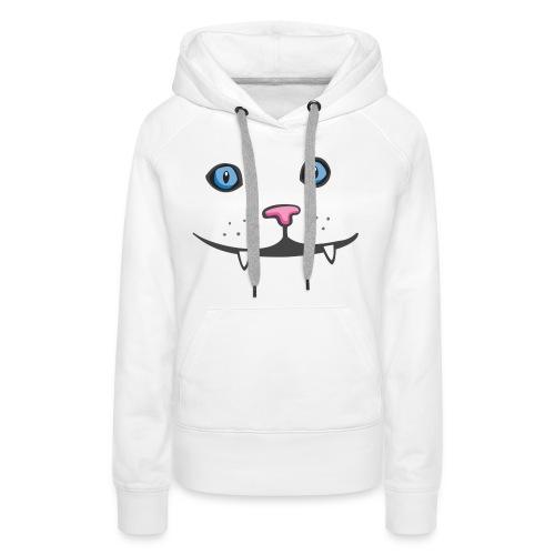 Happy Cat Kawaii - Women's Premium Hoodie