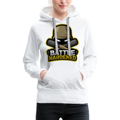 Battle hardened Logo - Women's Premium Hoodie