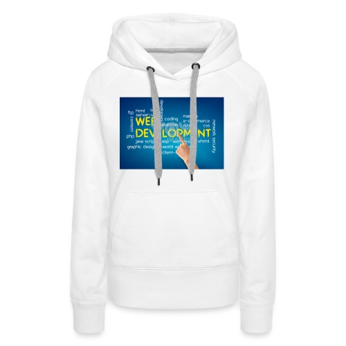 web development design - Women's Premium Hoodie