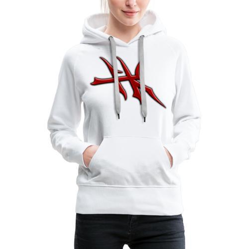 Blayde Symbol (Red) - Women's Premium Hoodie