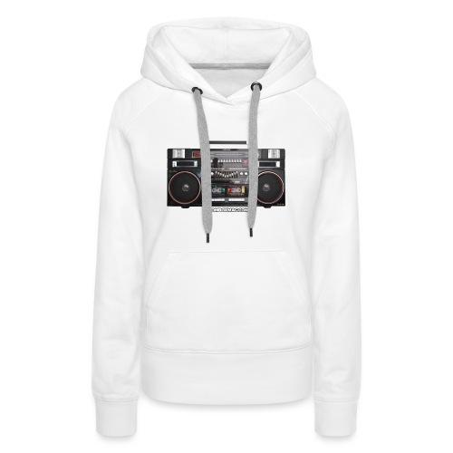 Helix HX 4700 Boombox Magazine T-Shirt - Women's Premium Hoodie