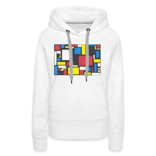 Geometric Pattern 2 - Women's Premium Hoodie
