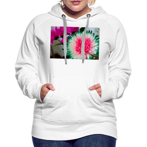 Flowery Words! - Women's Premium Hoodie