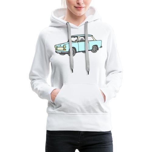Trabant (lightblue) - Women's Premium Hoodie