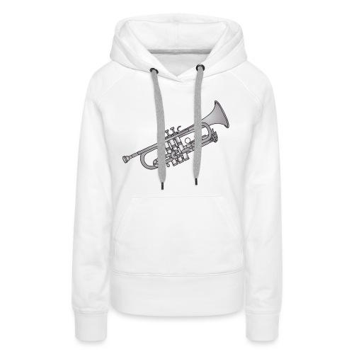 Trumpet brass instrument - Women's Premium Hoodie