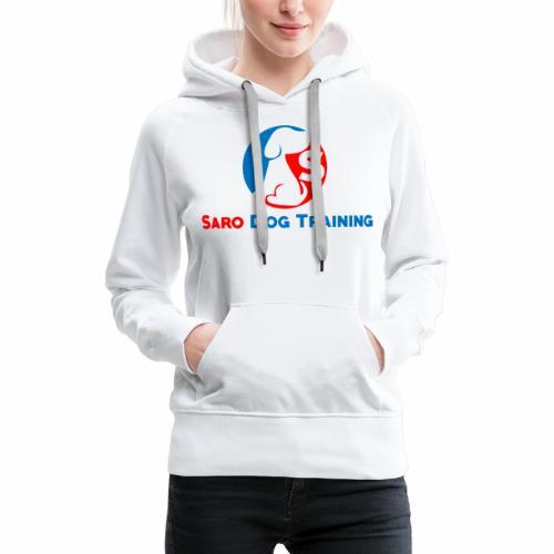 saro dog training logo - Women's Premium Hoodie