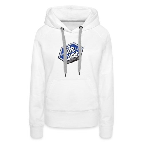 My Life In Gaming sticker - Women's Premium Hoodie