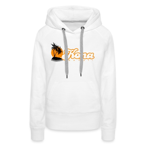 Kona Hawaii - Women's Premium Hoodie