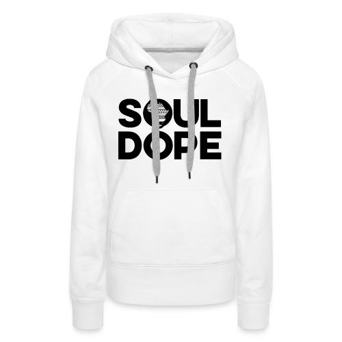 souldope Black Logo - Women's Premium Hoodie