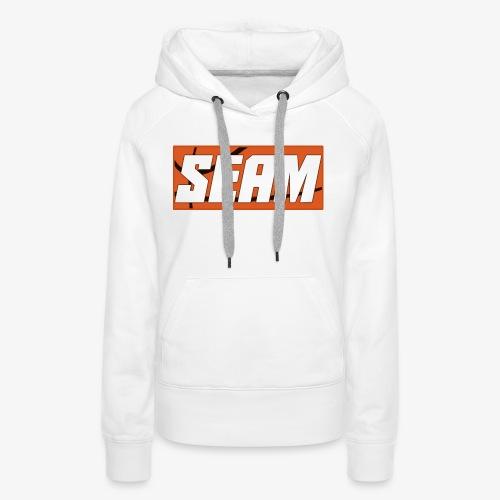 Seam Basketball T-Shirt - Women's Premium Hoodie