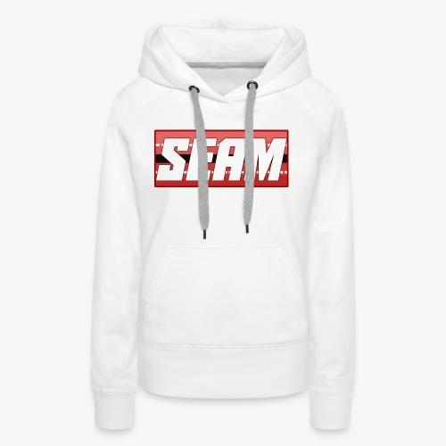 Seam Cricket T-Shirt - Women's Premium Hoodie