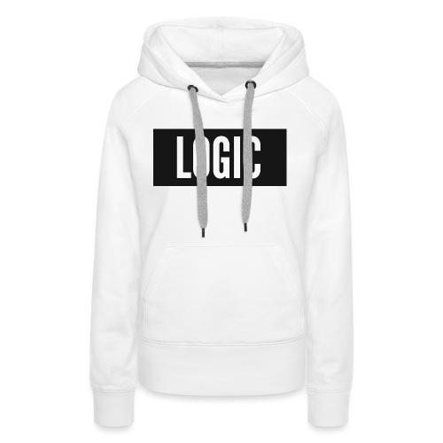 Logic Bold Logo - Women's Premium Hoodie
