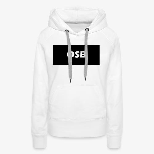 OSB LIMITED clothing - Women's Premium Hoodie