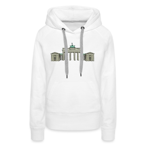 Brandenburg Gate Berlin - Women's Premium Hoodie