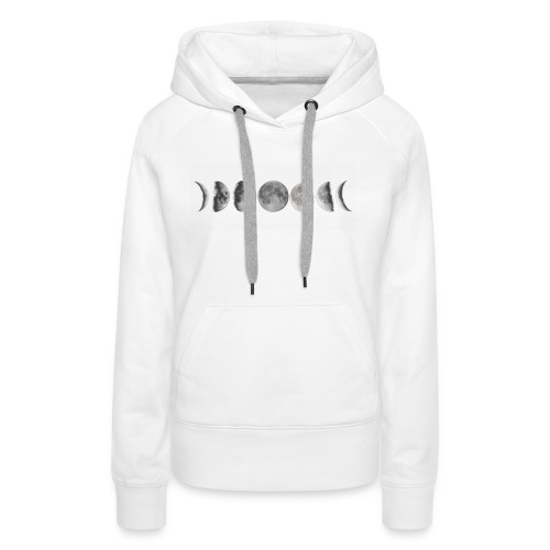 Phases of the Moon - Women's Premium Hoodie