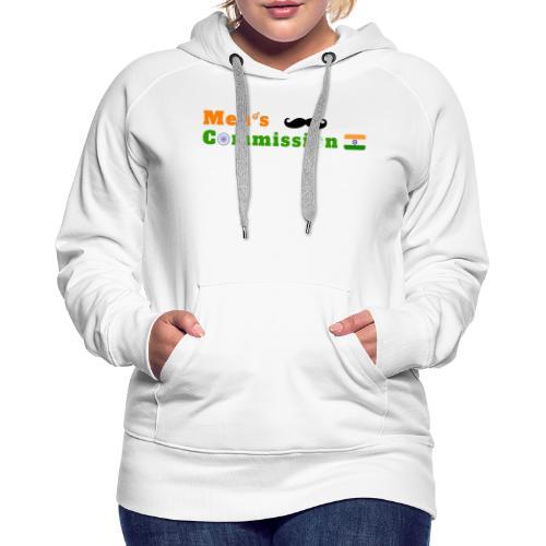 Mens Commission India - Women's Premium Hoodie