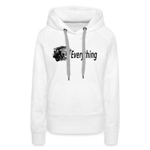 LS Everything WHITE T-shirt - Women's Premium Hoodie