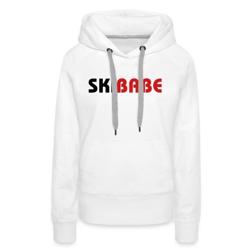 Ski Babe - Women's Premium Hoodie