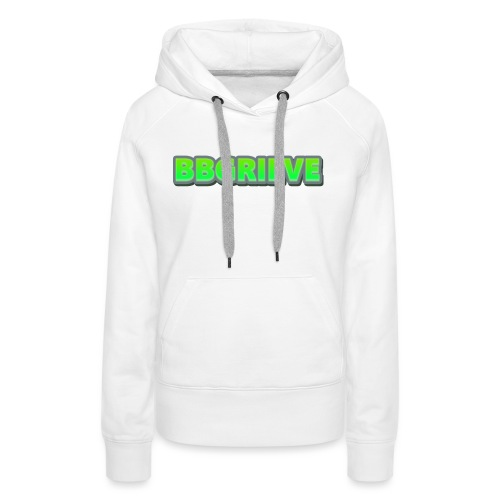 BBGrieve Large Logo - Women's Premium Hoodie