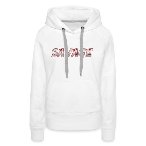 Savage Bloody - Women's Premium Hoodie