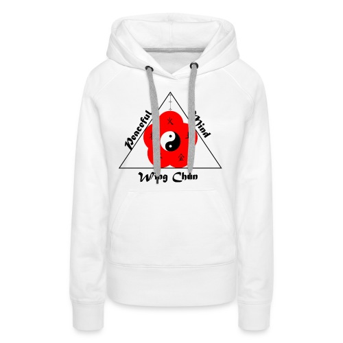 Peaceful Mind Vector - Women's Premium Hoodie
