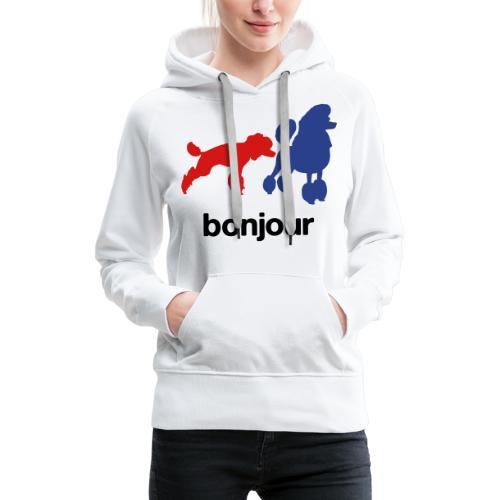 Bonjour - Women's Premium Hoodie