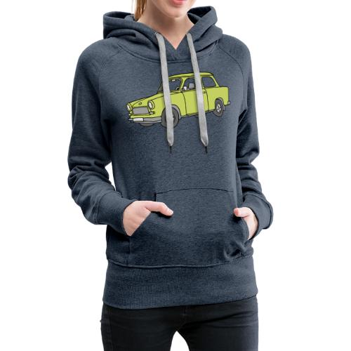 Trabant (baligreen car) - Women's Premium Hoodie