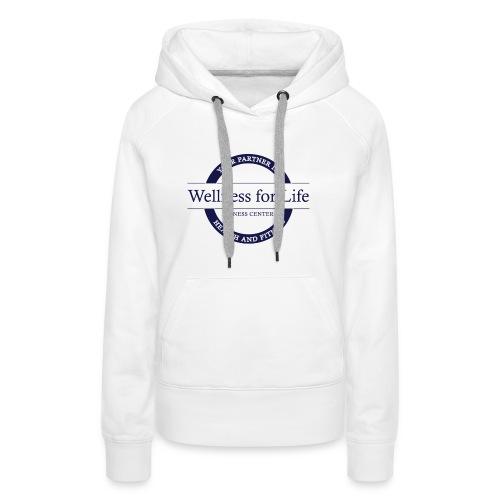 Blue WFL Logo - Women's Premium Hoodie