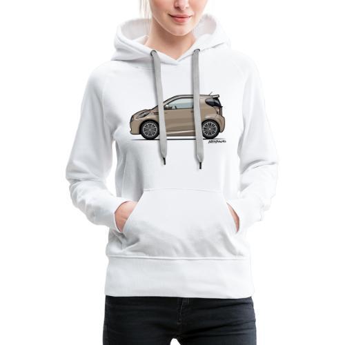 AM Cygnet Blonde Metallic Micro Car - Women's Premium Hoodie