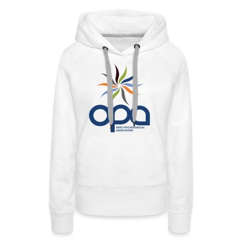 Hoodie with full color OPA logo - Women's Premium Hoodie