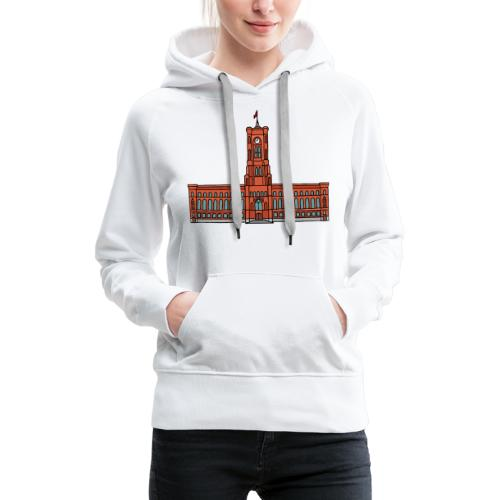 Red City Hall Berlin - Women's Premium Hoodie
