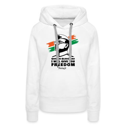 Subhash Chandra Bose - Women's Premium Hoodie