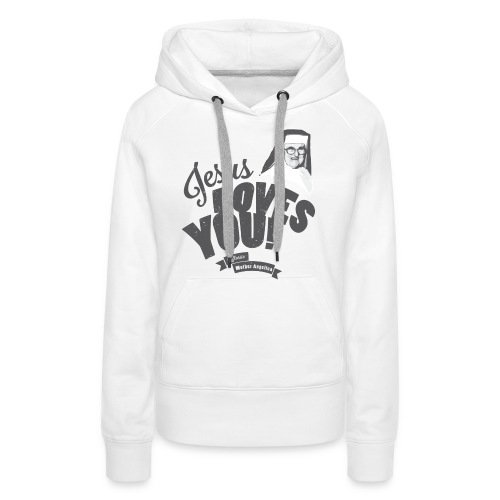 Classic Mother Angelica Dark - Women's Premium Hoodie