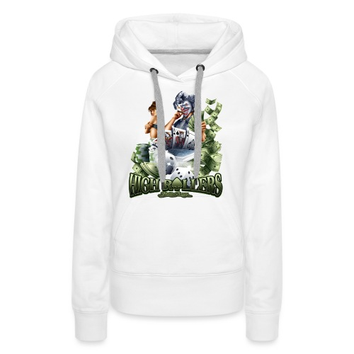 High Roller by RollinLow - Women's Premium Hoodie