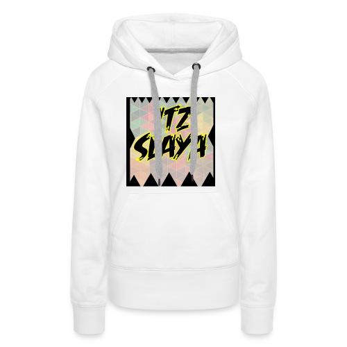 Slaya Logo 1 Shirt - Women's Premium Hoodie