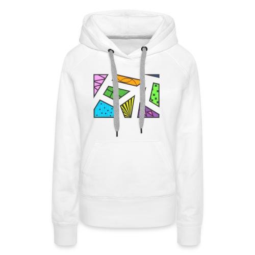 geometric artwork 1 - Women's Premium Hoodie