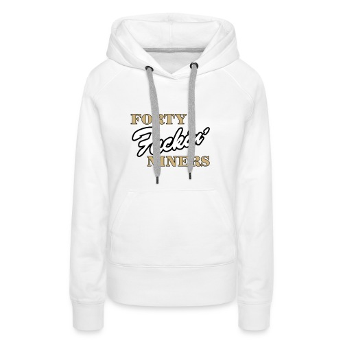 san francisco football logo - Women's Premium Hoodie