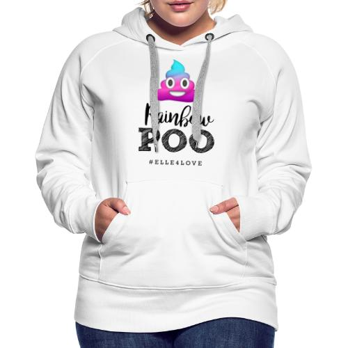 Rainbow Poo - Women's Premium Hoodie