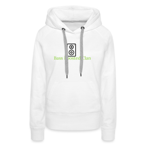 Bass Boosted Clan Brand - Women's Premium Hoodie