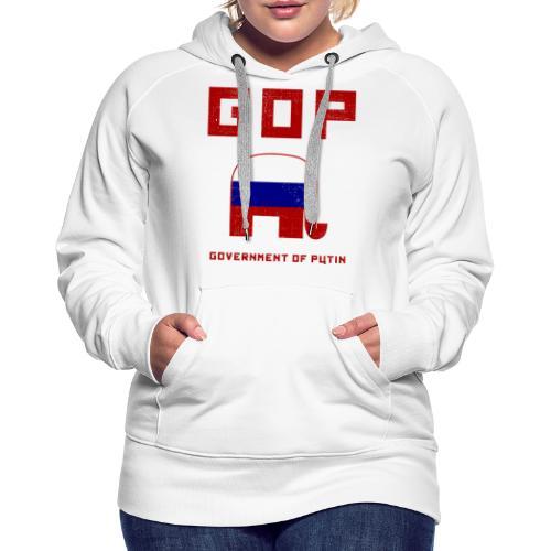 GOP Government of Putin - Women's Premium Hoodie