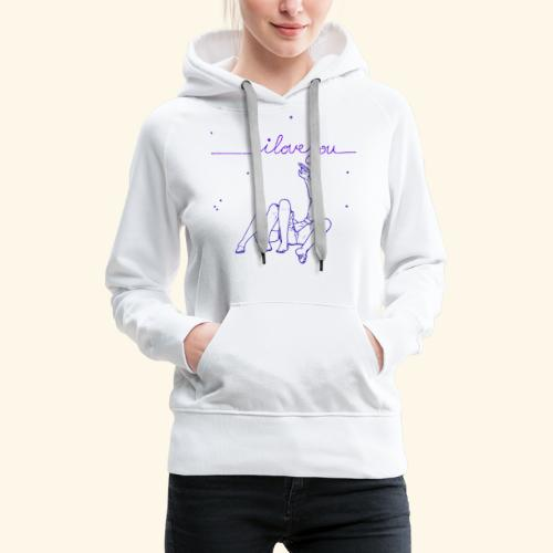 I Love you To The Stars Tee - Women's Premium Hoodie