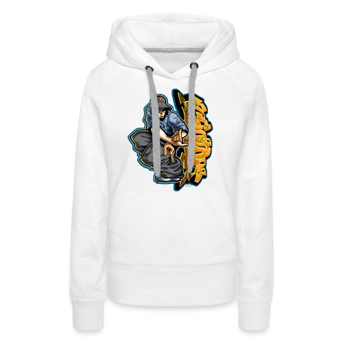 Cholo Hands by RollinLow - Women's Premium Hoodie