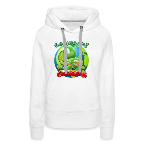 Gummibär Go Green Earth Day Earth - Women's Premium Hoodie