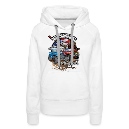 Country Off-Road Trucks - Women's Premium Hoodie