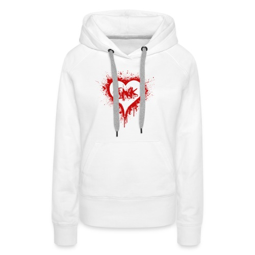 I Love Ink_red - Women's Premium Hoodie
