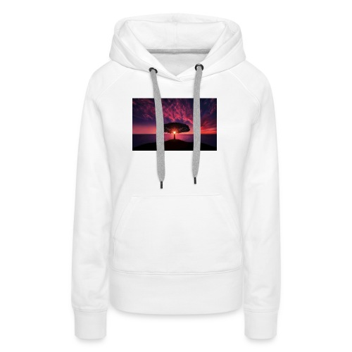 Tree of Sunlight - Women's Premium Hoodie